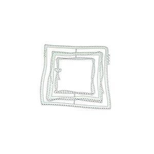 WuLi77 Unregelmäßige Box Metall Stanzschablone Die Stanzen Zum Basteln Von Karten, Prägeschablone Für Scrapbooking, DIY Album, Papier, Karten, Kunst, Dekoration