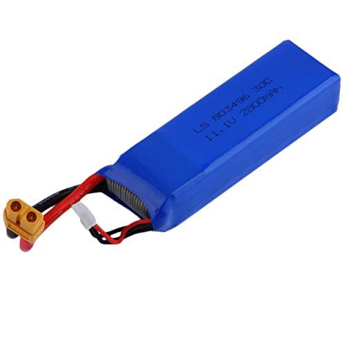 ClookYoon Nouvelle Batterie 11.1V 2800MAH 30C...