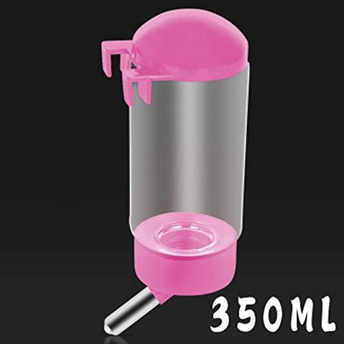 VCB Hundetrinkbrunnen Automatische Trinkwasserflasche Hangable Drinker Bottle - pink
