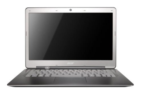Acer Aspire S3 13.3 inch Ultrabook (Intel Core i5-2467M, RAM 4 GB, HDD 320 GB, Bluetooth, Windows 7 Home Premium with up to 6 Hours Battery Life)