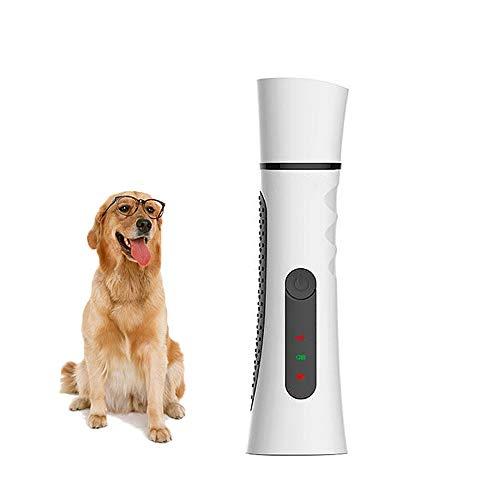 Na Licht-kit (FXQIN Premium Kabelloser Krallenpflege für Hunde, Gentle Paws Elektrischer Nagelschleifer für Hunde und Katzen/Pet Grooming Kit (Weiß))