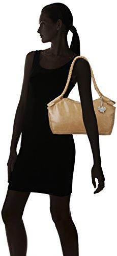 Butterflies Women's Handbag (Mustard) (BNS 0303)