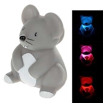 Kreative tiere serie koala design rubber led kleine for Kleine nachttischlampe