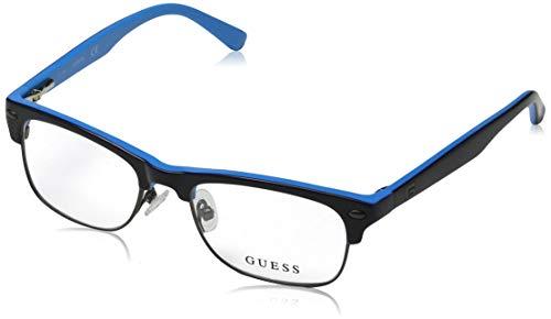 Guess Unisex-Erwachsene GU9174 090 47 Brillengestelle, Blau (Blu Luc) - Brille Guess Frames