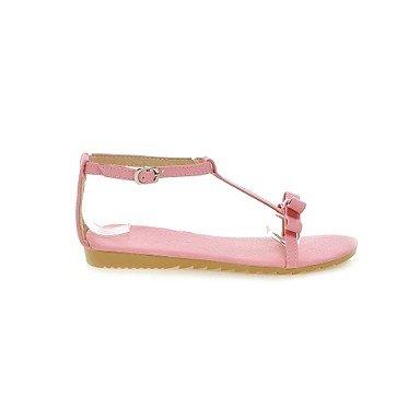 LvYuan Da donna-Sandali-Tempo libero Formale Casual-Altro-Piatto-PU (Poliuretano)-Rosa Bianco Argento Dorato Pink