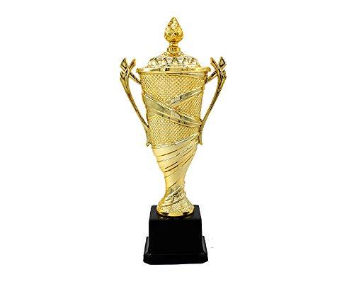 2018 Champions League Football Trophy, Sports Football Trophy Artigianato Golden Horse Award Copia Versione Stampabile Personalizzata Gratuita,XXL