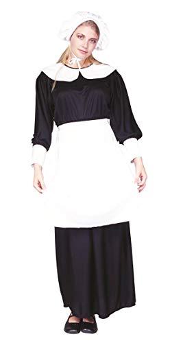 RG Kost-me 81110 Pilgrim Lady Kost-m - Gr-e Adult Norm