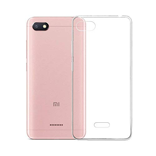 Electrónica Rey - Funda Carcasa Gel Transparente para XIAOMI REDMI 6A, Ultra...