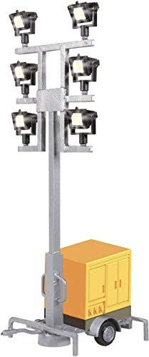Viessmann H0 VI LEUCHTGIRAFFE AUF ANHÄNGER (LED) -