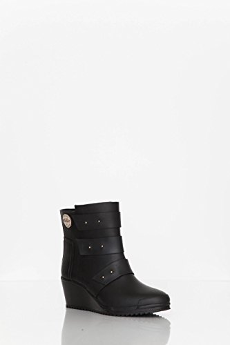 Nokian Footwear by Julia Lundsten - Bottes en caoutchouc -Strap Wedge- (Originals) [SW130] Noir