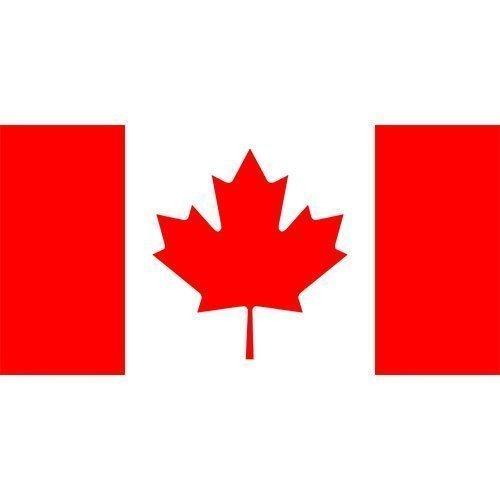 x 90cm) Kanada kanadische 100% Polyester Material Flagge Banner Ideal für Pub Club Schule Festival Business Party Dekoration (3x5 Kanada Flagge)