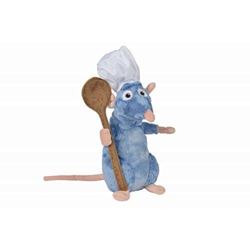 Disney Pixar 5874986 - Peluche de ratatuilla con Toca y Cuchara (25 cm) 10