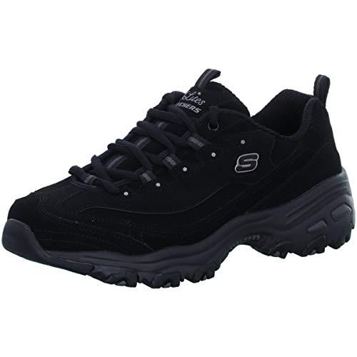 Skechers 11949/BBK Damen Schnürhalbschuh, Größe 42 (Skechers Schuh Stiefel Frauen)
