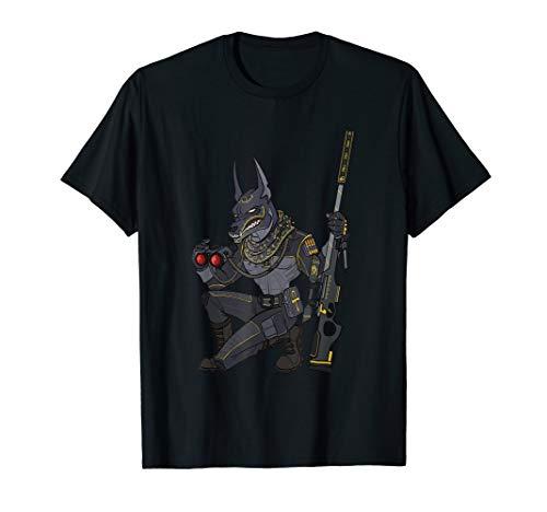 Anubis Sniper Soldier Veteran Airsoft T-Shirt -