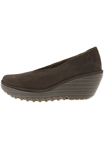 Fly London - Yaz - Chaussures de Ville - Femme Marron (Ground)