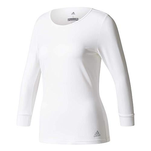 adidas Damen Advantage 3/4 Sleeve Tee Women T-Shirts, weiß, - Tee Tennis Adidas