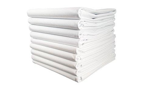 TM Maxx TischtuchBetttuch BettlakenHaushaltstuch Sommerdecke Laken in Hotelqualität⁕ 150g/m² (2) ⁕ 4 Größen⁕ gesäumt an 2 Seiten ⁕ 100% Baumwolle ⁕ ohne Gummizug (160x260 cm)