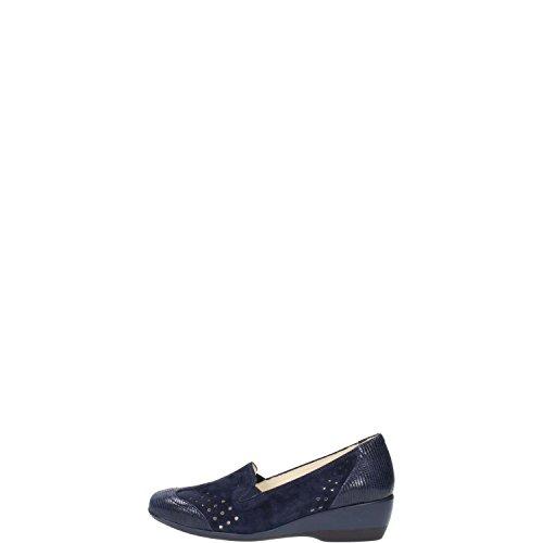 Melluso R3465 Sneakers Donna Camoscio/pelle Blu Scuro Blu Scuro 35