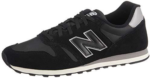 New Balance 373, Sneaker Uomo, Nero (Black/Marblehead Blg), 42 EU