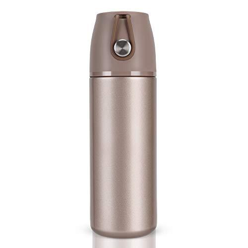 YumSur Bottiglia Acqua Acciaio Inox Senza BPA Portatile Borraccia Termica Isolamento Sottovuoto Doppia Parete Borracce per Bambini Sport Allaperto