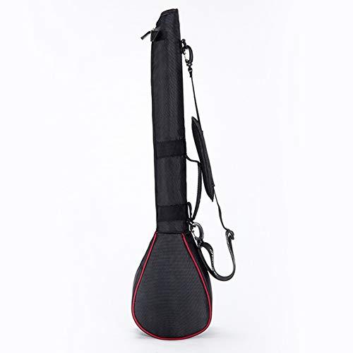 LTLSF Herren Golftasche, Faltbare, Leichte Nylon-Einzelschulter-Golftasche Mit Großer Kapazität, Kann 2-3 Schläger Aufnehmen, Unisex