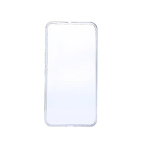 Nadakin HTC One X9 Hülle Case Transparent Handyhülle Flex Silikon Schutzhülle Durchsichtig Ultra Thin TPU Crystal Clear Back cover Premium Kratzfest Bumper Slim case für HTC One X9 (Transparent)
