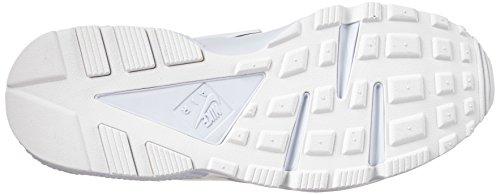 Nike Air Huarache, Baskets Basses Homme, Gris, 41 EU Blanc (White/white/pure Platinum)