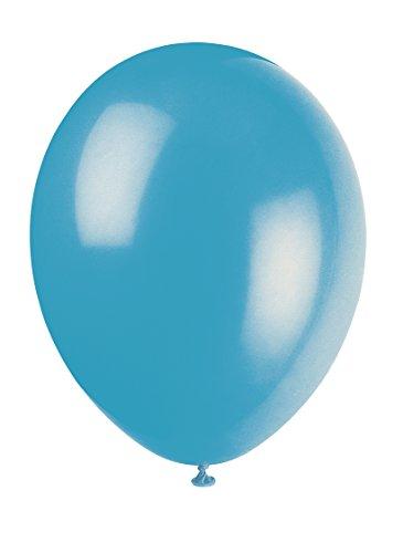 Unique Party Globos de Fiesta de Látex, 50 Unidades, Color Azul, Pack of 50 (56858)