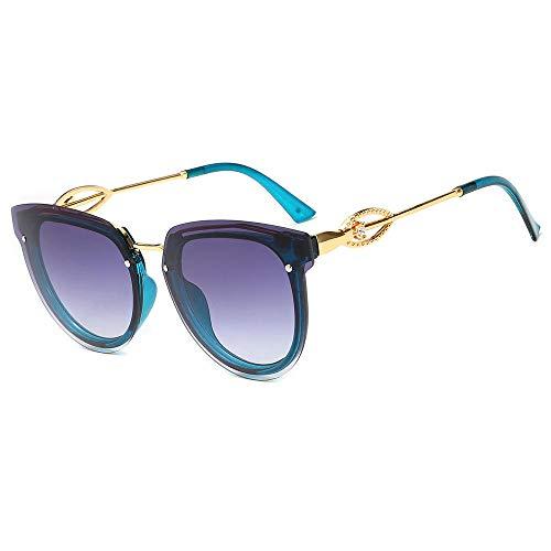 PROMISE-YZ Sonnenbrille Polarisierte sonnenbrille 100% UV 400-Schutz Mode Trend Strand Sonnenbrille Reisen fahren Damen rahmenlose Diamant-Brille