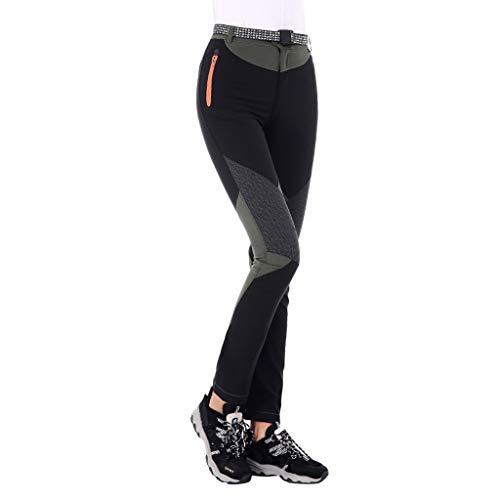 Pantalones yoga ajustados mujer Pantalones multibolsillo