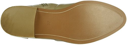 Buffalo London - 416-1260 Cow Leather, Stivali bassi con imbottitura leggera Donna Beige (Beige (Taupe 01))