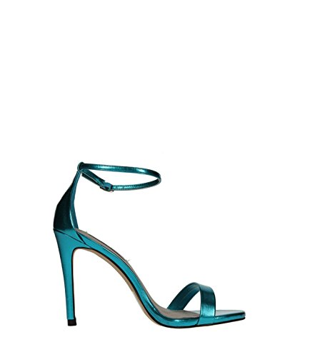 Stecy Green Metal Sandals - Sandali Da Donna Verde Mettallico Blu