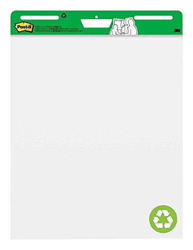 Post-it MC559RP Super Sticky Meeting Chart, 1 Block 30 Blatt, zu 30% aus Altpapier, 63,5 x 76,2 cm, weiß