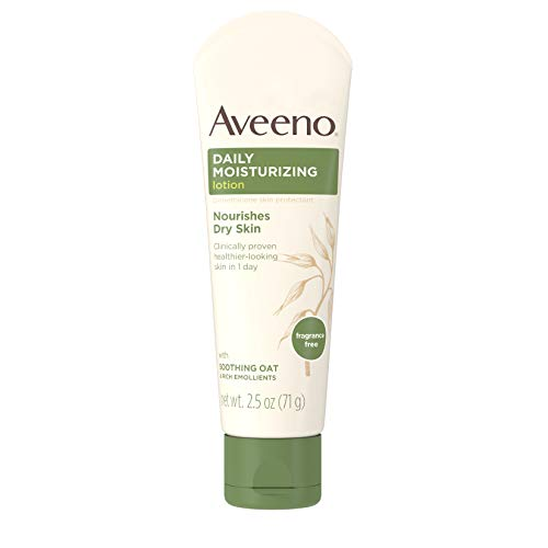 Aveeno Daily Moisturizing Lotion Tube, 2.5 Ounce (Pack of 2) by Aveeno -