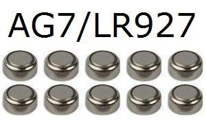 10-x-155v-button-coin-cell-watch-battery-batteries-ag7-ag-7-lr927-lr926-gp399