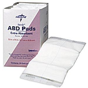 Medline Abdominal (ABD) Pads - Sterile - 8' x 10',