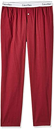 Calvin Klein Jeans Women's SLEEP Pants, Purple (Raspberry Jam Heather RJH), Me