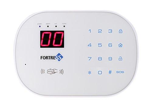 Fortress Security Store (TM) S02-F (Mit Automatischer Alarm DIY Kit Aussensirene mit Zifferblatt