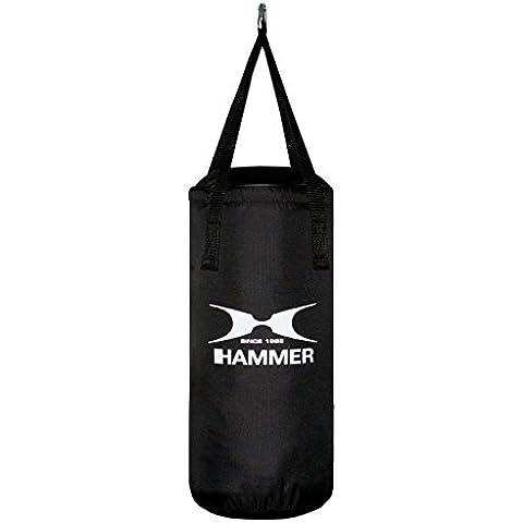 Hammer Boxsack Fit Schwarz - Saco pesados de boxeo ( nylon ) , color negro, talla Talla única
