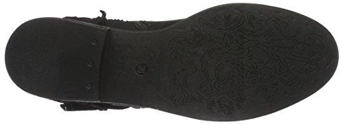 Spm Calvados Ankle Boot, Bottes Classiques femme Noir - Schwarz (Black/Black)