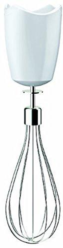 Braun Accesorio MQ10 Acc.BATITORA VARILL, 0 W, 0 Decibeles, Acero Inoxidable, plástico, Blanco