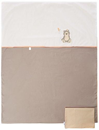 Candide 414430.0 Bettwäsche Kopfkissenbezug plus Bettbezug, 2 teilig