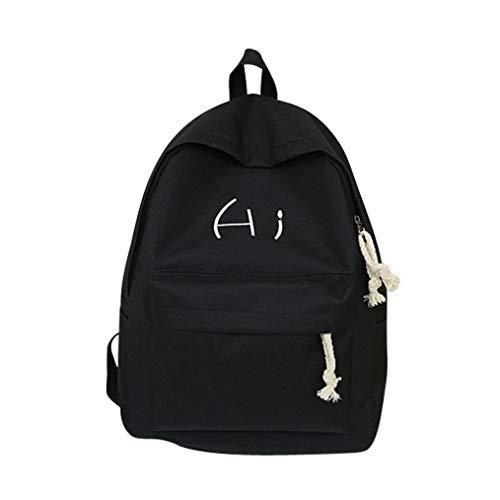 Hi tela lettera borsa da studente zaino borsa viaggio di grande capacità- zaino per studenti-borsa per studenti-borsa per computer studente-borsa sportiva all'aperto-zaino alla moda