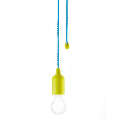 Preisvergleich Produktbild LOOOQS Ziehleuchte, grün Kunststoff 1 W, small