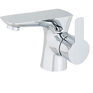 diseño web barato madrid: Pedras PED001 mezclador de lavabo con válvula desagüe