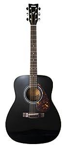 Yamaha F370 Full Size Acoustic Guitar - Black