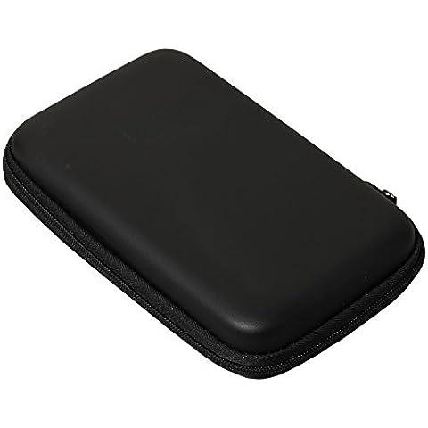 Timorn EVA Funda protectora de la cubierta Bolsa de almacenamiento duro Bolsa de transporte para Nintendo 3DS LL (Negro)