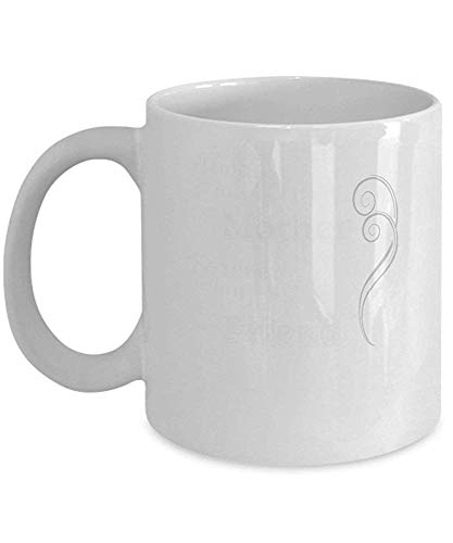 Funny Mugs, Mother Forever My Friend, Coffee Mugs, 11oz White Mugs (Care Bears Forever Friends)