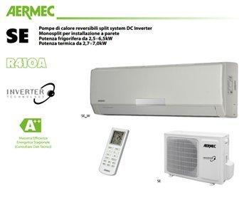Condizionatore AERMEC ad Inverter 24000 BTU