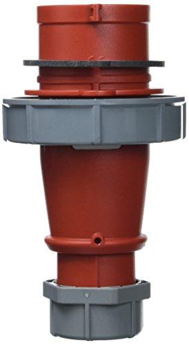 Mennekes (Unternehmen) 328amv-top einzelnen Teil Körper Phase Inverter Stecker, IP 67Schutz, 5Pole, 32A, 400V, rot -